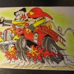 Fire Truck hotrod
