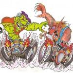 Frank & Wolf dragrace