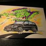 Franken Benz-SUV