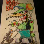 Rebel Rat biker