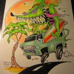 Surf Rat full colour
