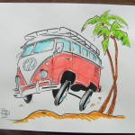 VW Van-stock