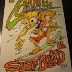 Zombia Surf Board