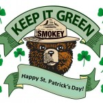 St Pattys Smokey the Bear