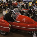 BSA Lightning with Velorex side car