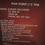 1949 Ford 1/2 Ton, Gerard Bellanger