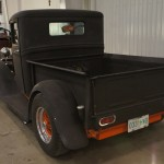 Model A Ford Pickup - Rear view