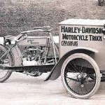 Harley Davidson Motorcycle Truck