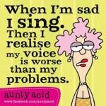 Sad Sing